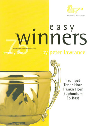 BW0124TCD - Easy Winners for Treble Brass Book and CD Default title