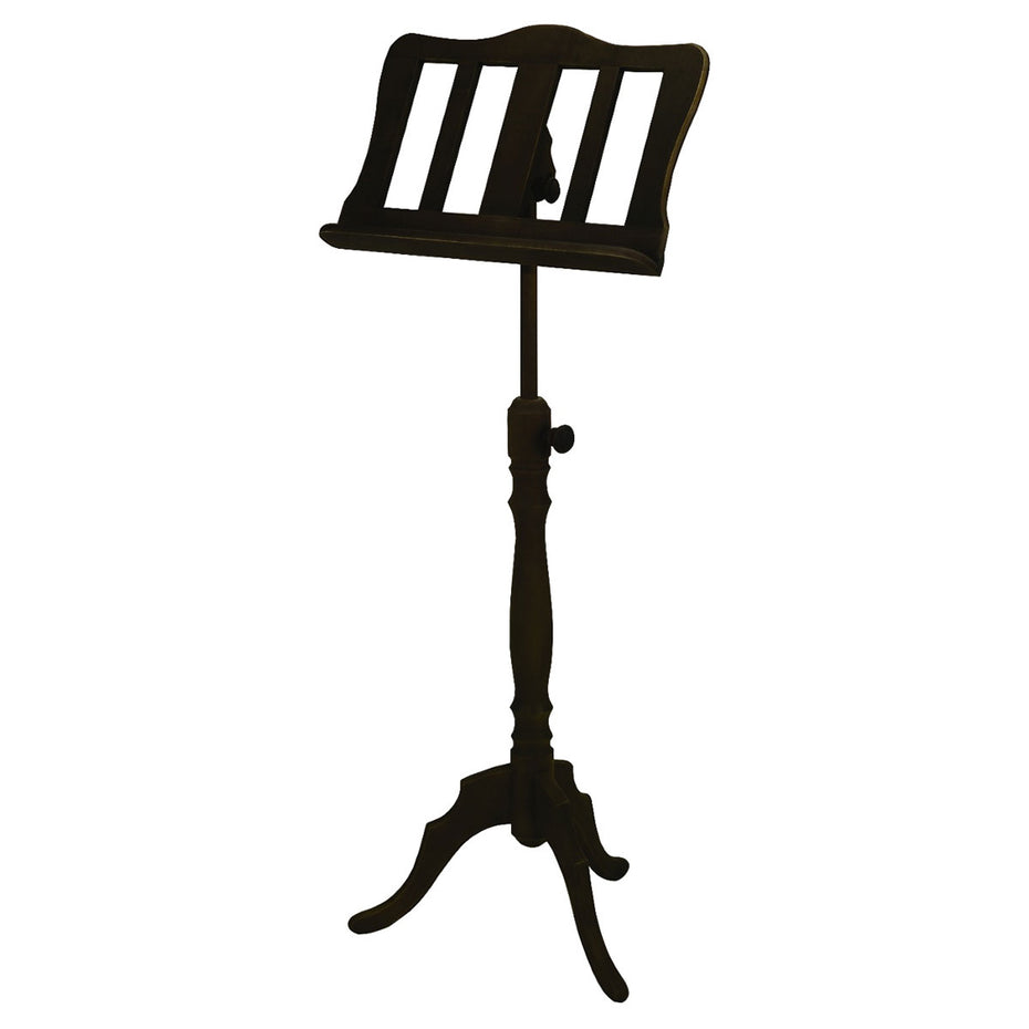 F900801 - Gewa solid wood music stand Dark walnut