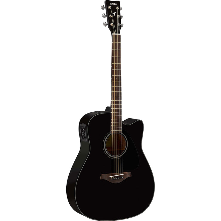 FGX800C-BL - Yamaha FGX800C dreadnought acoustic guitar Black gloss