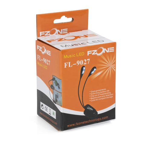 FL9027 - FZone clip on LED double music stand light Default title