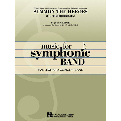 FABER Olympic Fanfare /& Theme concert band Symphonic wind band HL04001652