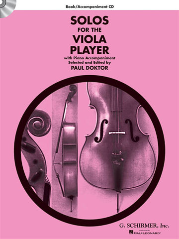HL50490424 - Solos For The Viola Player - Book/CD Default title