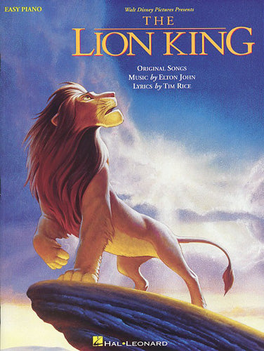 HLD00110029 - The Lion King: Easy Piano Default title