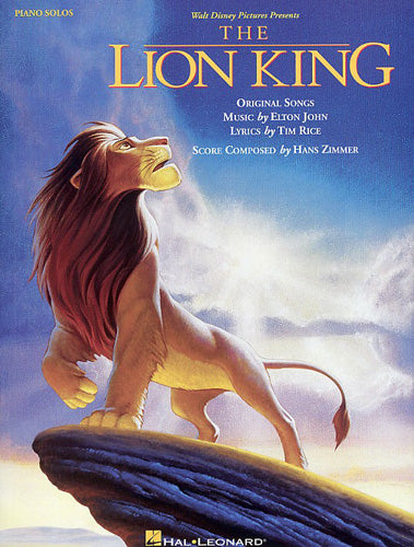 HLD00292060 - The Lion King: Piano Solos Default title