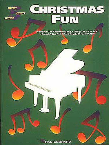 HLE00292065 - Five Finger Piano Solos: Christmas Fun Default title