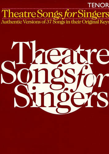 HLE90000858 - Theatre Songs for Singers: Tenor Default title