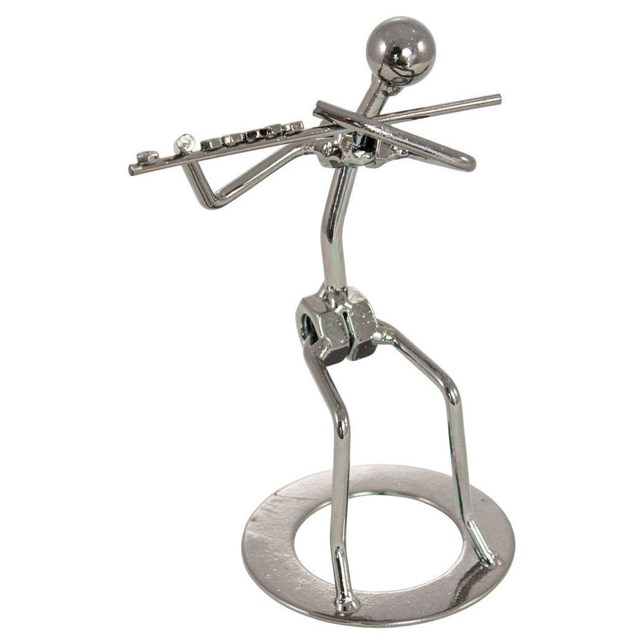 HYF007 - Nuts & bolts iron man figurine - flautist Default title