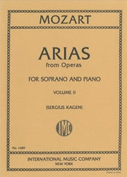 IMC1689 - Mozart 40 arias for soprano volume 2 Default title