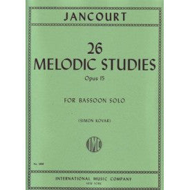 IMC1898 - 26 Melodic Studies op 15 bassoon Default title