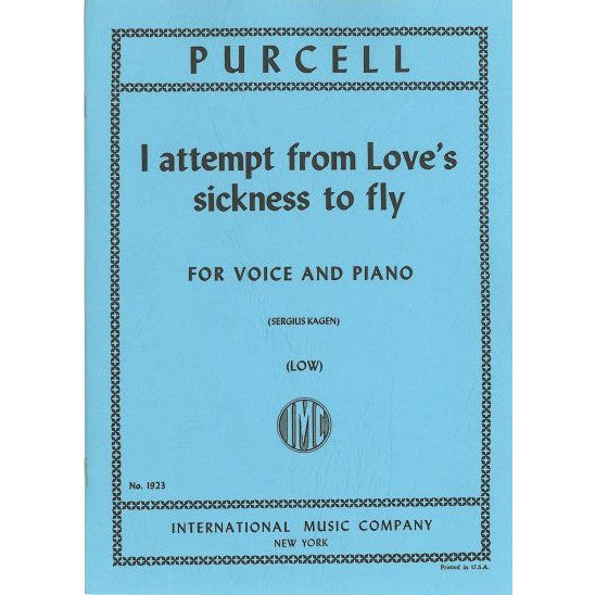 IMC1923 - I attempt from Love's sickness to fly (from The Indian Queen, Z.630). Default title