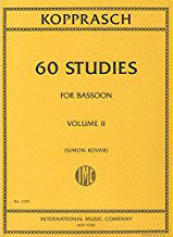 IMC2139 - 60 Studies volume 2 bassoon Default title