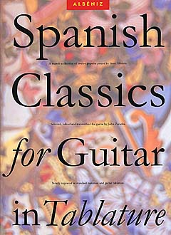 AM91080 - Spanish Classics for Guitar In Tablature Default title