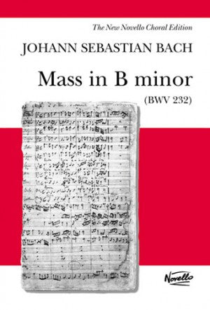 NOV078430 - J.S. Bach: Mass In B Minor BWV 232 Default title