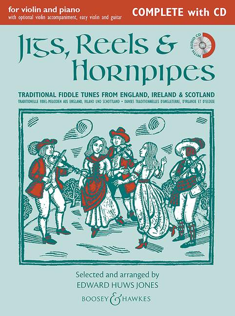 M060124051 - Jigs, Reels & Hornpipes (New Edition) complete with CD Default title