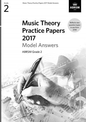 AB-86010100 - Music Theory Practice Papers 2017 Model Answers, ABRSM Grade 2 Default title