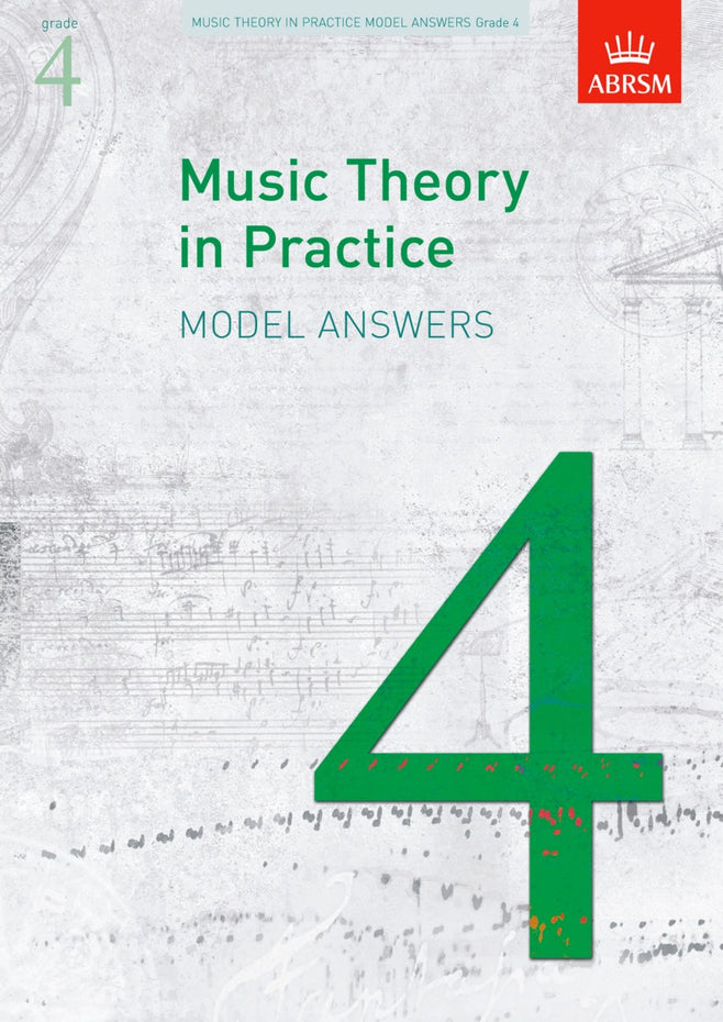 AB-48491175 - Music Theory in Practice Model Answers, Grade 4 Default title