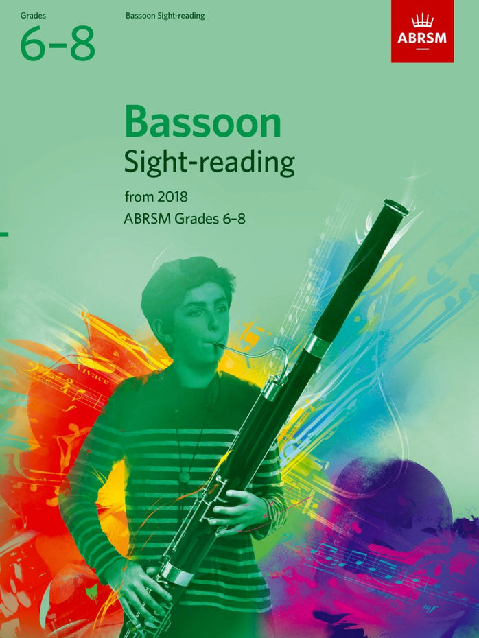 AB-48499768 - Bassoon Sight-Reading Tests, ABRSM Grades 6–8 Default title