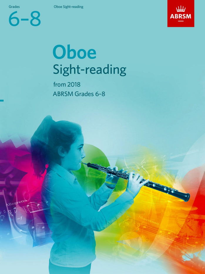 AB-48499829 - Oboe Sight-Reading Tests, ABRSM Grades 6–8 Default title