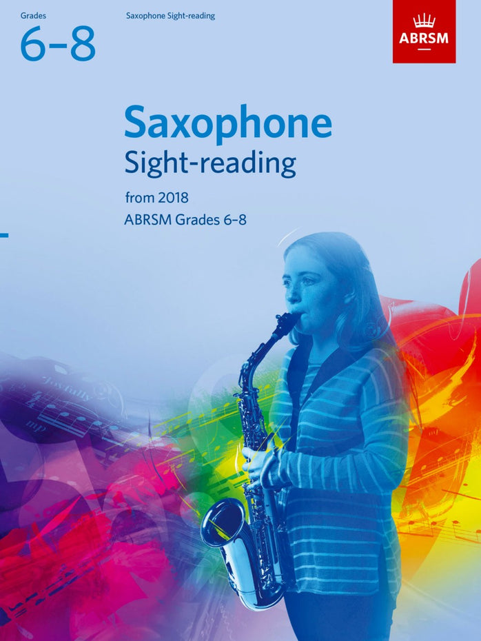 AB-48499850 - Saxophone Sight-Reading Tests, ABRSM Grades 6–8 Default title