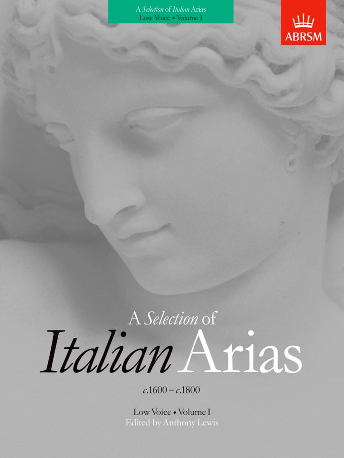 AB-54722409 - A Selection of Italian Arias 1600-1800, Volume I (Low Voice) Default title