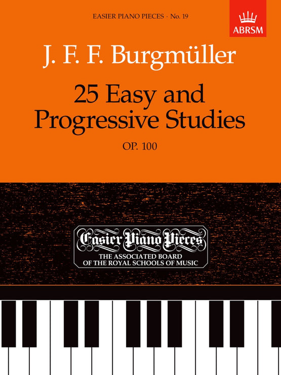 AB-54722485 - Burgmuller 25 Easy and Progressive Studies op100 Default title