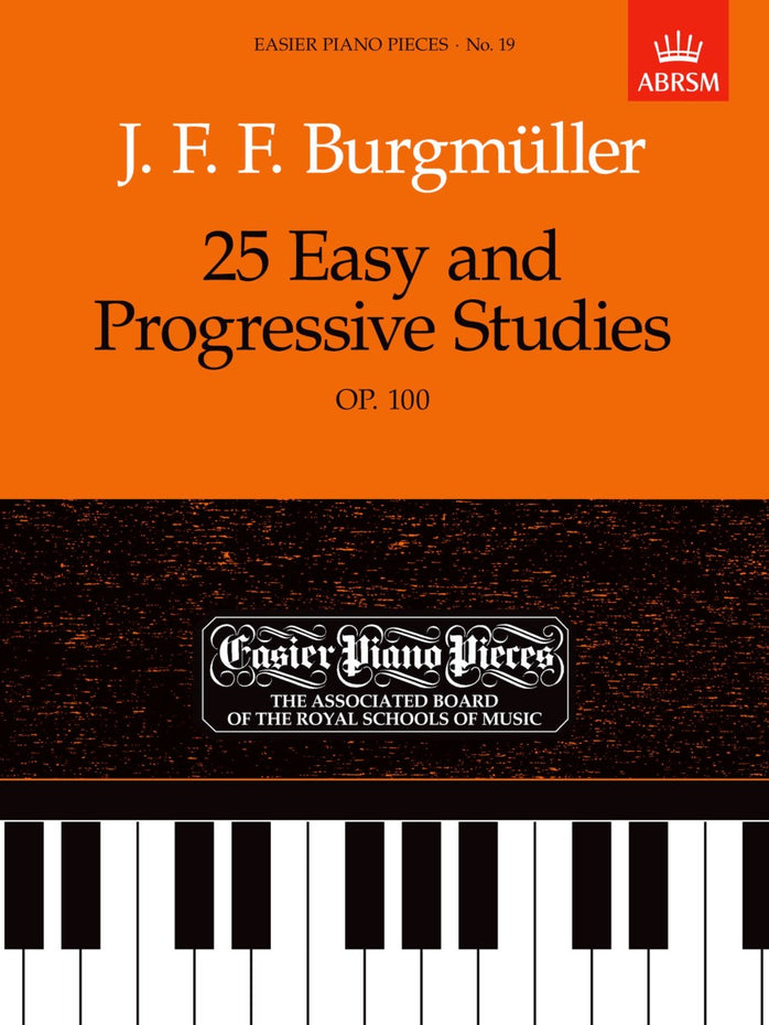AB-54722485 - 25 Easy and Progressive Studies, Op.100 Default title