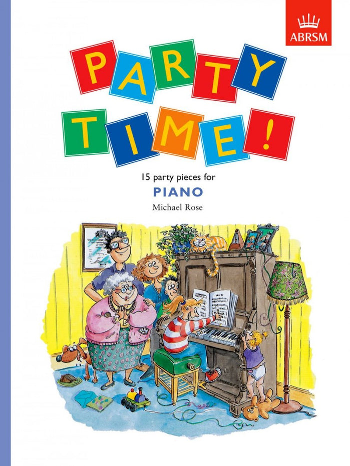 AB-54728340 - Party Time! 15 party pieces for piano Default title