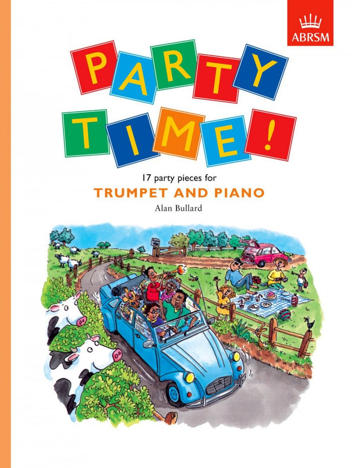 AB-54729903 - Party Time! 17 party pieces for trumpet and piano Default title