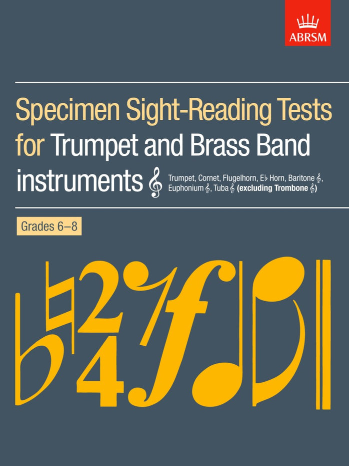 AB-60960604 - Specimen Sight-Reading Tests for Trumpet, Grades 6–8 Default title