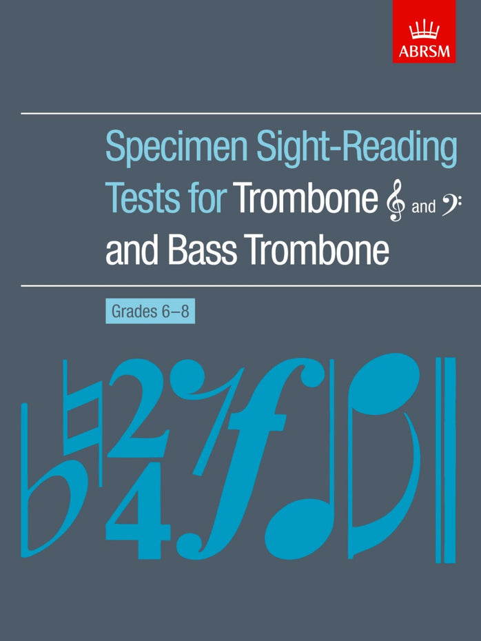 AB-60960611 - Specimen Sight-Reading Tests for Trombone & Bass Trombone, Grades 6–8 Default title