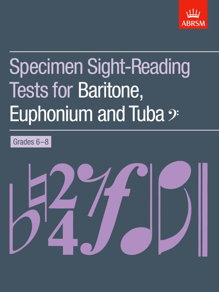 AB-60960628 - Specimen Sight-Reading Tests for Bass Clef Brass, Grades 6–8 Default title