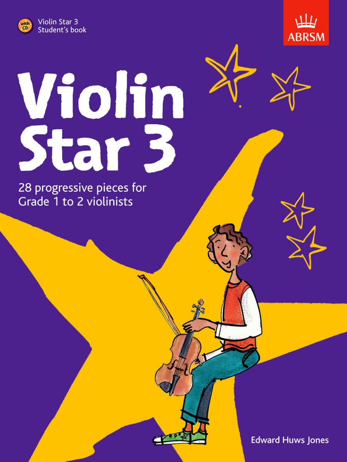 AB-60969010 - Violin Star 3, Student's book, with CD Default title