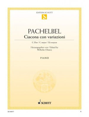 ED09877 - Pachelbel Ciacona con variazioni in C major Default title