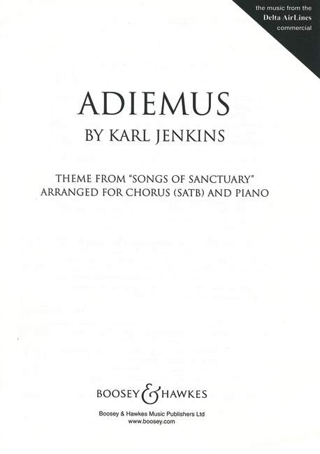 M060106712 - Adiemus. Theme From Songs of Sanctuary Default title