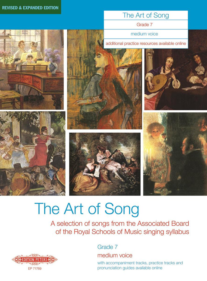 P71769 - The Art of Song: grade 7 medium voice Default title
