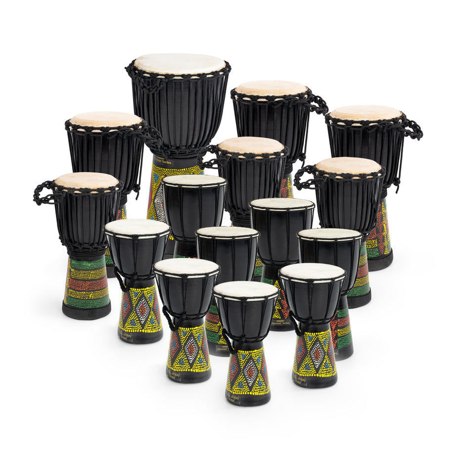 JBD-15PK - 15 player African drum set from Percussion Workshop Default title