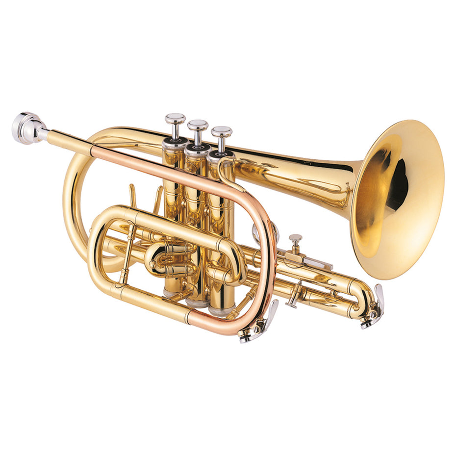 JCR-700-Q - Jupiter JCR-700-Q Bb student cornet outfit with padded rucksack case Default title