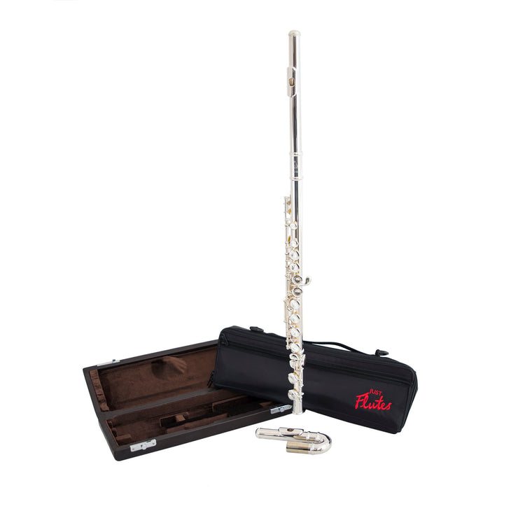 JFL-201EU - Just Flutes JFL-201EU student flute outfit with curved and straight headjoints Default title