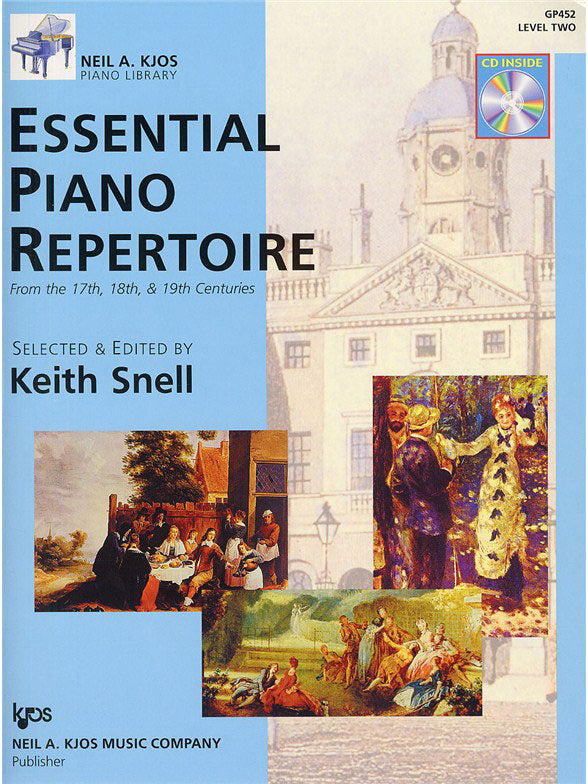 KJGP452 - Neil A. Kjos Piano Library: Essential Piano Repertoire - Level 2 Default title