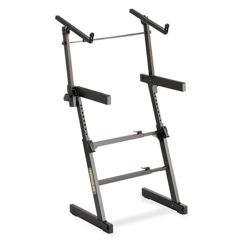 KS410B - Hercules EZ-LOK dual tier keyboard stand Default title
