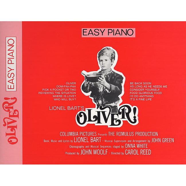 LK56187 - Lionel Bart: Oliver! (Easy Piano) Default title