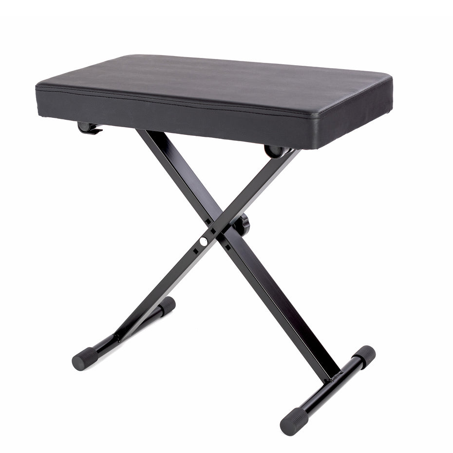 LMS24A - Opus height adjustable keyboard bench with extra padded seat Default title