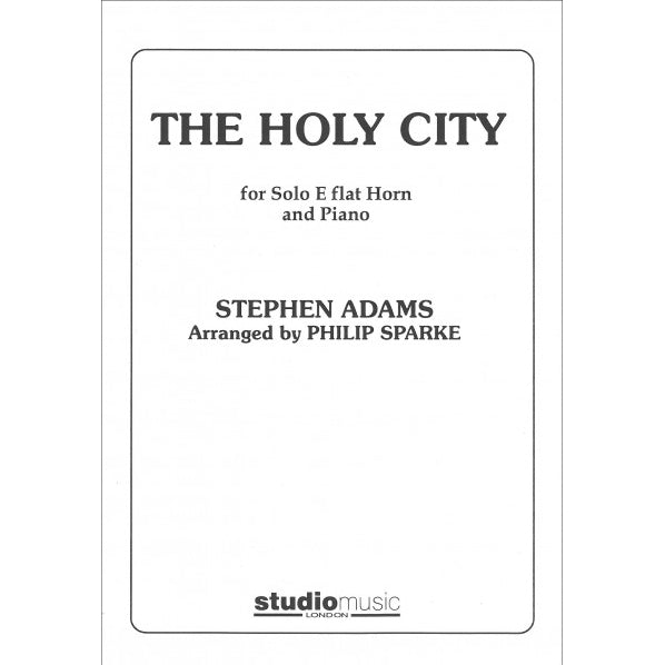 M050034506 - Sparke The Holy City Eb Horn & Piano Default title