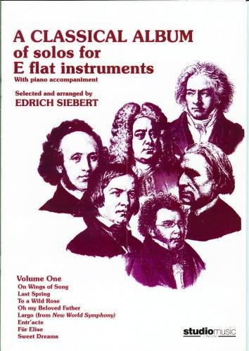 M050036531 - Classical Album of solos for Eb instruments Volume1 (treble clef) Default title