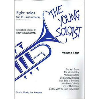 M050083818 - The Young Soloist for Bb Instruments, Vol 4 Default title