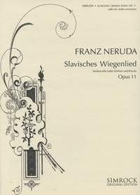 M221101563 - Slavonic Cradle Song op. 11 (Slavisches Wiegenlied) Default title