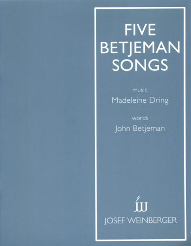 M570052974 - Dring Five Betjeman Songs Default title