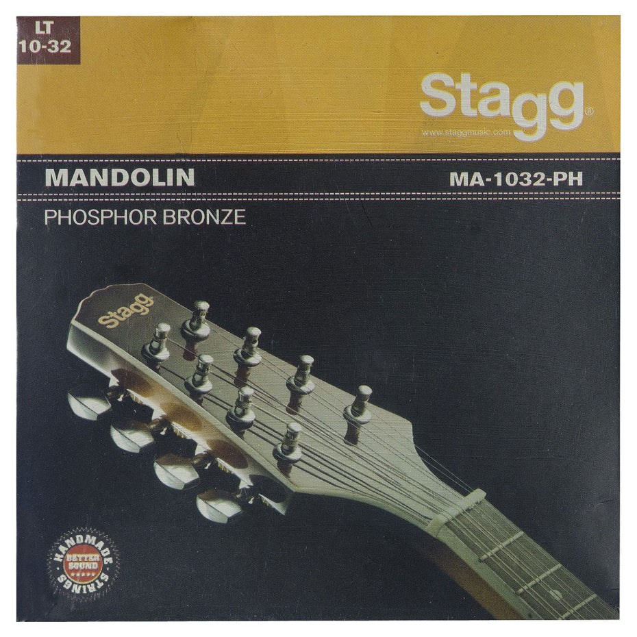 MA1032PH - Stagg entry level mandolin string set Default title