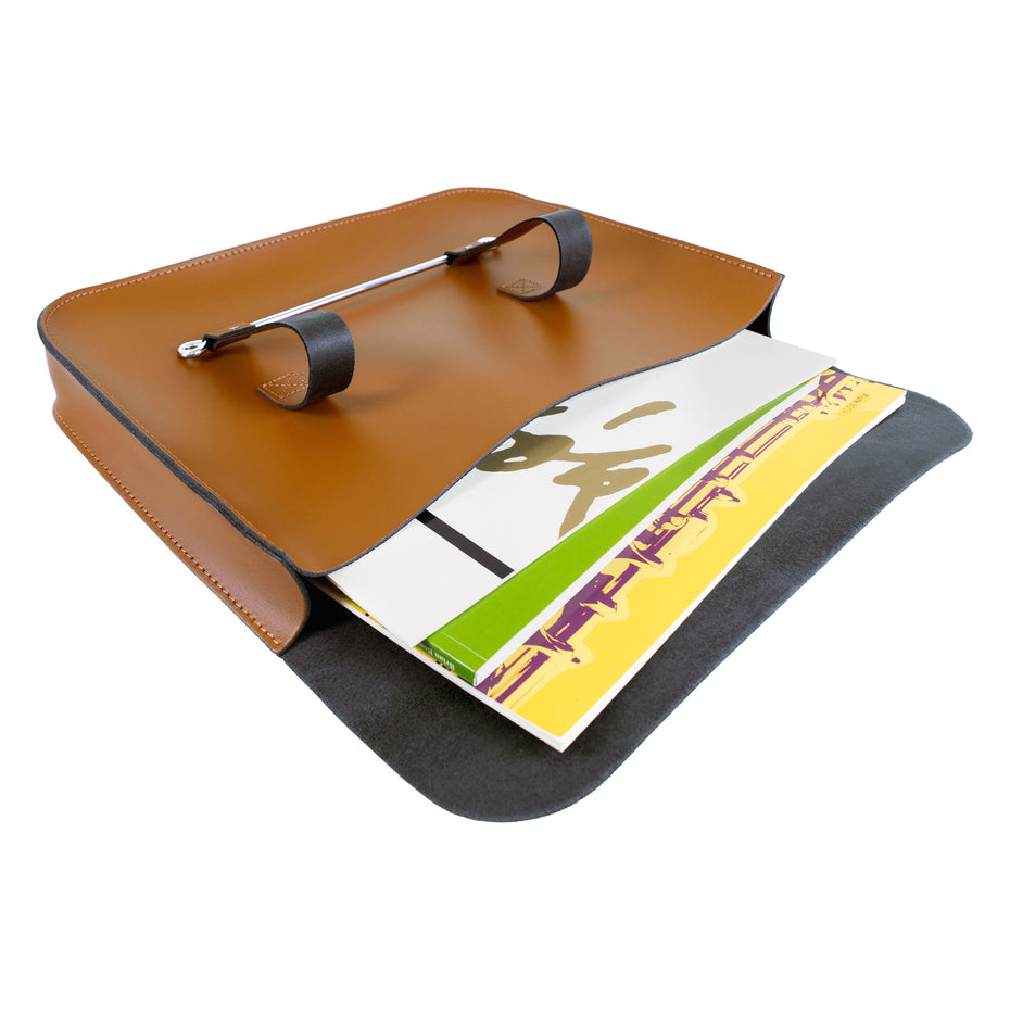 Oxford Traditional Leather MC1-N Music Case