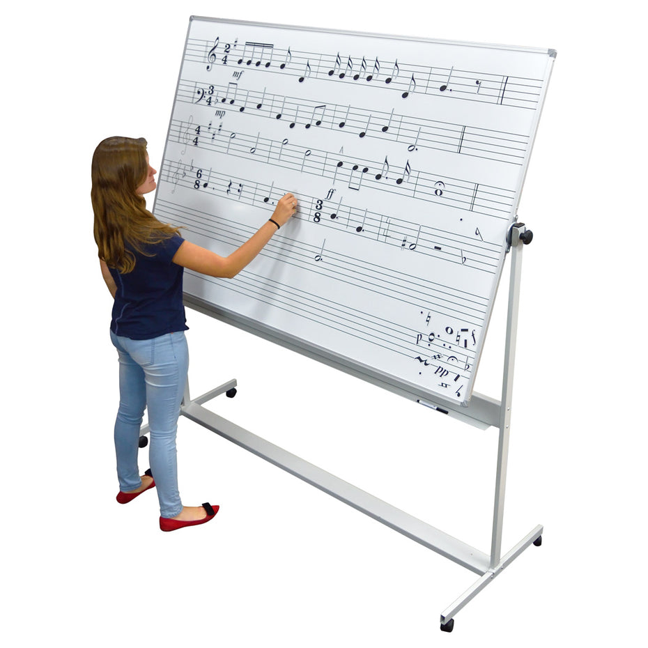 MCP102 - Magiboard magnetic single sided whiteboard 180 x 120cm
